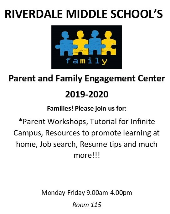 Family Resource Flier